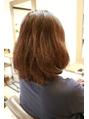 【丸みショート】くせ毛カットで作るナチュラルボブ