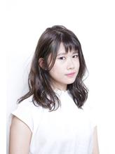 【coma中野】シースルーバング抜け感ハイライトセミロング.7