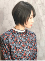 《Lian by Allure》YOSHI ショートヘア×カーキグレージュ