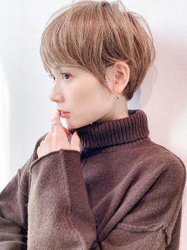 [K-two青山]大人女性に人気ナチュラルショートヘア[表参道/青山]
