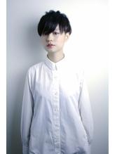 黒髮マニッシュベリーショート  《RENJISHI》 .48