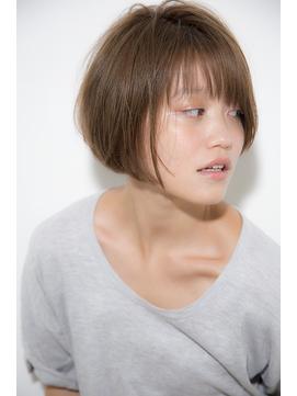 [Garland/表参道]ナチュラル☆ピュアボブ02 ノームコア