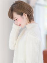 【VIALA 自由が丘】ショートボブ×耳かけ .47