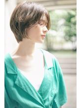 【MINX 川渕】センターパートショートボブ クラシカル.58