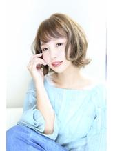 【Aere池袋】☆ヌードカラー×ゆるふわボブ☆小林 正重.10