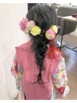 【roomRoom yuki】3歳七五三☆成人式・結婚式・パーティーにも◎