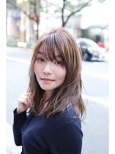 【coma中野】3Dカラーで魅せるシースルーバングラフウェーブ.5