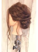 【AnFyeforprco】パーティーヘアセット♪ 盛り髪.36
