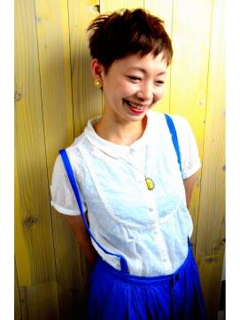 ☆NUUK☆明るめ3Dカラーのセシルショート