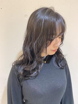 【SUAVE/北巽】顔周りレイヤー×グレージュ☆