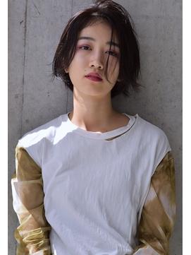 AI HONDA /大人ショート ビターチョコレートカラー