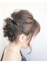 【ao hair garden】ツイストアップスタイル.47