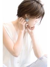 センターパート大人カワイイグレージュショート【vicca萩原】 大人カワイイ.57