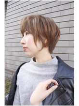 【MALUNA ヒマワリ】横顔美人ショート.17