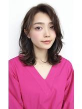 Soleil菊地/ウォーターフォールことりベージュ毛先パーマ小顔.33