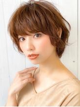 《Agu hair》大人かわいい無造作マニッシュショート.23