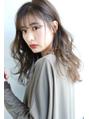 【ROSE/鳳】シアベージュ/スモーキーカラー/ダブルバング