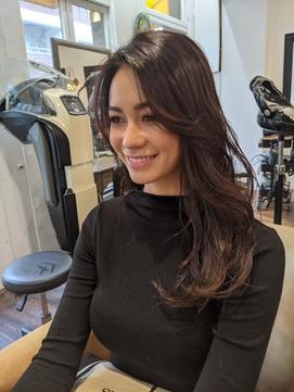 前髪なし ネイビーカラー MUSE Yuka