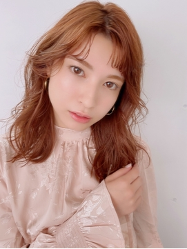 【HONEY表参道】うるツヤ!ピンクブラウン×ヨシンモリ(shiho)