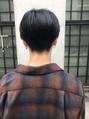 【December】ソフトツーブロック トランクスヘアセンターパート
