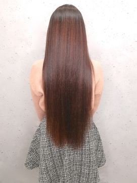 ◆40.50.60代 大人気【透明感白髪染め 】髪質改善トリートメント