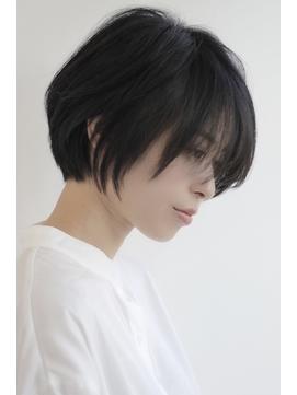 【麻布十番・三田・田町】黒髮ショート&前下がりボブ