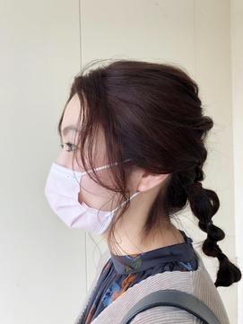 イヤリングカット♪前髪と横髪の隙間が気になる方おすすめ