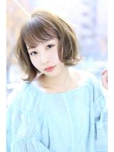 【Aere池袋】☆ヌードカラー×ゆるふわボブ☆小林 正重.11
