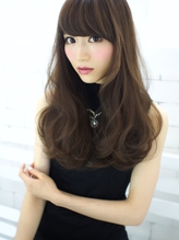 release【ピュアホワイトブラウン☆ゆるふわウェーブ】.0