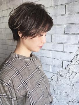 『celilo 小後貫 文暁』ケアブリーチハイライト☆ベリーショート