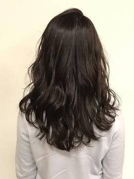 【#ダークブラウン】×上品で落ち着いたカラー×こなれヘア