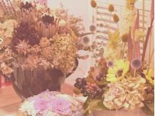 植物に囲まれたナチュラルな空間です。