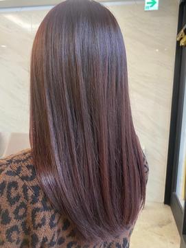 【pink hair**】魔法のビューロンストレート