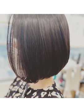 【大人女性のワンレンボブStyle…★】