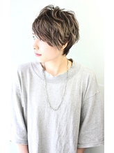 無造作パーマ風クールショート☆★【RENJISHI】3 落ち着き.16