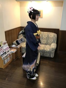 姫カットアップスタイル