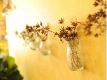 店先で咲く花のドライ~ガーデニングは、と陶芸が趣味です・・