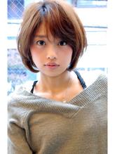 ひし形フォルムの耳かけボブ【外苑前・青山・表参道】 愛され.43