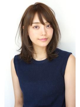 Soleil松田/クールショート着物ボブルフピンクベージュ