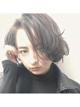 ダークアッシュ × こなれクールボブ ボディパーマ.53