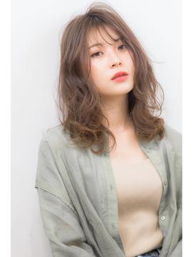 20代30代40代◎大人かわいい韓国シースルーバング