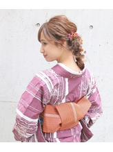 【Neolive &】浴衣×大人可愛いアレンジ.9