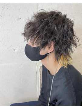 FORTE GARDEN HILLS【櫻田】インナーカラー イエローテール