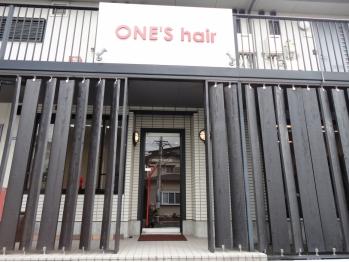 ワンズ ヘアー 本店(ONE'S hair)