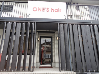 ワンズ ヘアー 本店(ONE'S hair) image