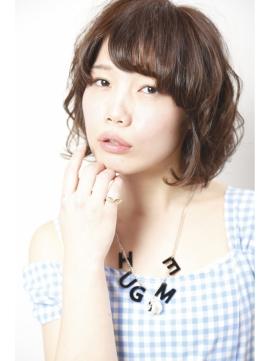 【ジンジャーカラー】小顔×ボブ☆
