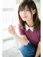 しっとりまとまる☆フェミニンストレートa デート.43