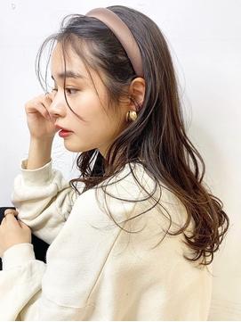 〇顔まわり × うざバングが可愛い クアンクヘア 韓国ヘア