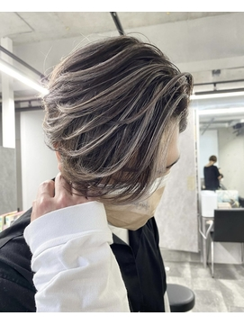 【REDEAL大宮】ハイライトメッシュ[エアータッチバレイヤージュ
