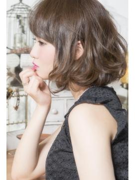 【keep hair design.木田】☆ウェービー大人ボブ【自由が丘】